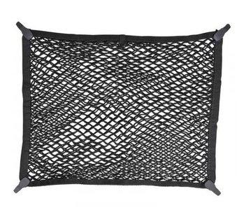 Bagagenet elastisch 80x60cm dubbel met kunststof haken NS-2